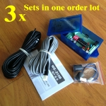Automatic door safety beam sensors (Single beam) 3 sets in one o