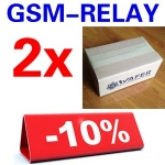 2 Sets GSM-RELAY order package + Free shipipng with DHL