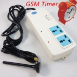 GSM Power strip with built-in 8 timer for auto working every day