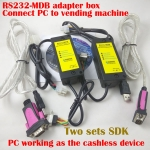 2 Sets RS232-MDB adapter SDK Sets,Connect PC to Vending Machine