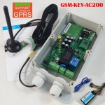 GSM-KEY-AC200 GSM remote controller for automatic door opener