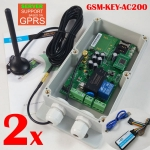 GSM-KEY-AC200 gsm controller 2 pcs in a lot order