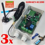 GSM-KEY-AC200 gsm controller 3 pcs in a lot order