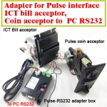 Pulse bill acceptor,coin acceptor to computer RS232