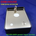 GSM intercom Call Point for house building (AC100-240V type)