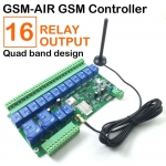 16 Way Relay Output GSM remote control board