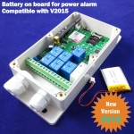 New GSM-RELAY SMS remote controller,Relay switch controller