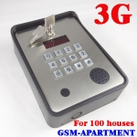 GSM intercom 3G version maximum 100 houses for USA,Australia