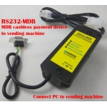 1 Set RS232-MDB adapter ,Connect PC to Vending Machine
