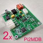 2 pcs Raspberry Pi to MDB ,Connect PI to Vending Machine