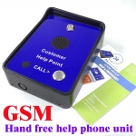 Vandal Proof GSM customer help - Handfree service free phone
