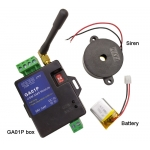 GA01P Power failure alarm gsm alarm box