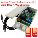 GSM-DKEY Double SIM card on board Controller for door opener