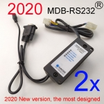 2 sets 2020 version MDB-RS232 Adapter box (RS232)