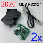 2 sets 2020 version MDB-RS232 Adapter box (Raspberry PI)