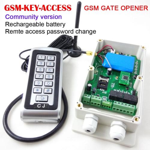 GSM control box for automatic door opener,swing gate opener
